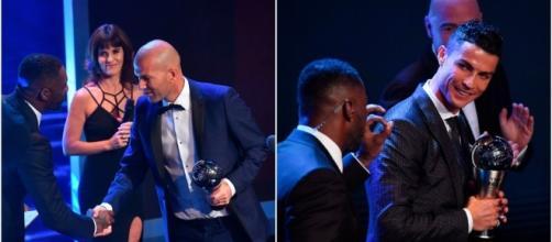 Prix FIFA: Zinedine Zidane et Cristiano Ronaldo à l'honneur