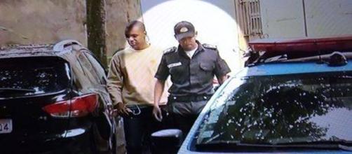 Tenente acusado de atirar na turista / Foto: Reprodução Record TV Rio