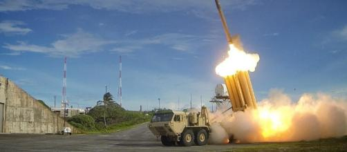 T.H.A.D. missile defense. (Image Credit: [Wikipedia])