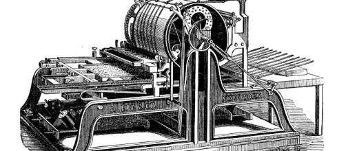 The printing press from which the modern name of the press comes from - A.H. Jocelyn via Wikimedia Commons