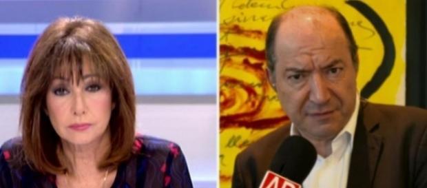 Ana Rosa Quintana y Sanchís en directo