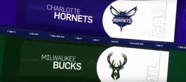 Charlotte Hornets vs Milwaukee Bucks on October 23 at BMO Harris Bradley Center [Image Credit: AllStar Channel/YouTube]