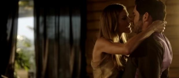 "Charlotte Richards fancies the devil in ""Lucifer"" season 3 episode 5. (Image Credit:TVPromosDB/YouTube)"
