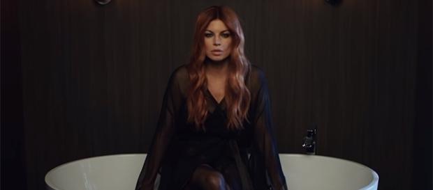 Fergie gets emotional in talking about her breakup with ex-husband, Josh Duhamel. (FergieVEVO/YouTube)