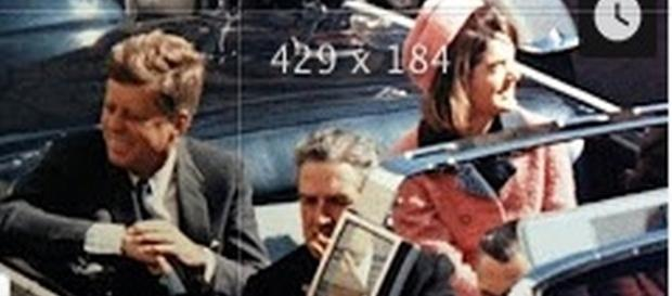 John F. Kennedy and Jackie in limo. [Image Credit: Newsy/YouTube screencap]