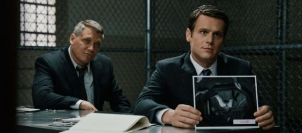 Jonathan Groff and Holt McCallany in Netflix Mindhunter - Netflix trailer grab YoutTube