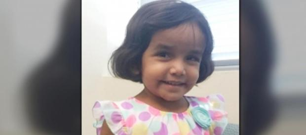 The remains of Sherin Mathews have likely been found, while his father is again in jail. [Image via Richardson Police Department]