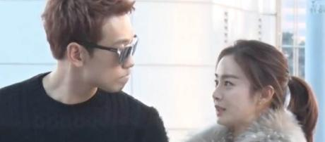 Korean entertainment's power couple Rain and Kim Tae Hee welcomed their first baby. source: Jessica Channel