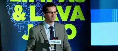 O coordenador da força-tarefa da Lava Jato Deltan Dallagnol participou de debate em São Paulo