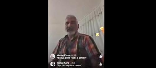 A Turkish father committed suicide on Facebook Live over daughter's engagement. [Image credit: World News/YouTube]