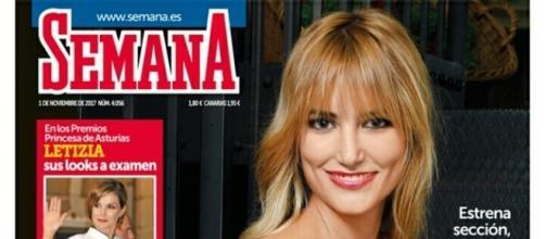 Alba Carrillo posa para la revista Semana
