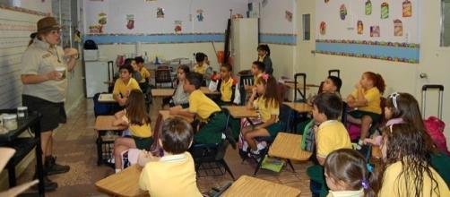 Elementary School in San German, Puerto Rico (Image credit - A. Sosa – Wikimedia Commons)