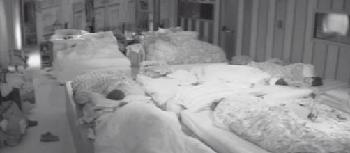 Grande Fratello vip i concorrenti dormono