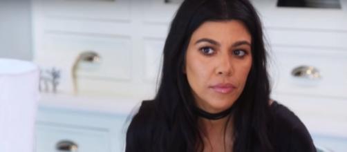 Kourtney Kardashian responds to pregnancy rumors. (Image Credit: E! Entertainment/YouTube)