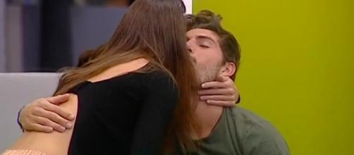La prova bacio tra Ignazio Moser e Cecilia Rodriguez