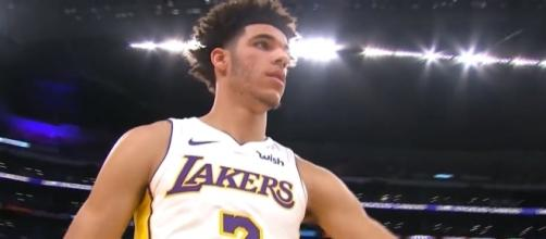 Lonzo Ball of the Los Angeles Lakers. (via YouTube - Real GD's Latest Highlights)