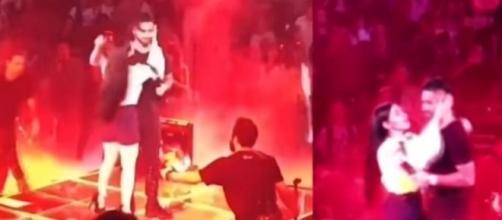 Maluma desprecia a una fan que intenta besarlo en pleno escenario. - com.ar