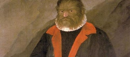 """Petrus Gonsalvus, el """"Hombre lobo canario"""""""
