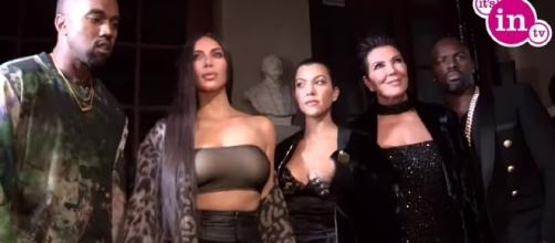 The Kardashian family re-signed a deal with E! for $150 million. Image credit: ItsinTV/YouTube