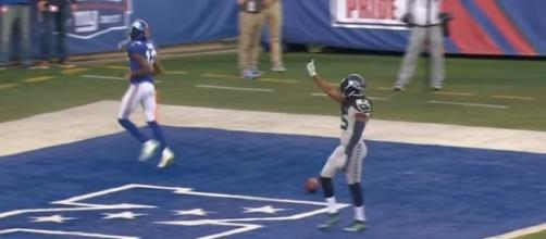 The Seattle Seahawks defense found a way to shut down the New York Giants. -- YouTube screen capture / NFL