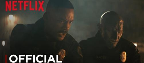 Will Smith and Joel Edgerton team up in Netflix's latest, 'Bright'. (Via Youtube- Netflix)