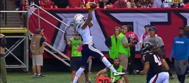 Dontrelle Inman makes a catch in 2016 - image - Jake Gavurnik / Youtube