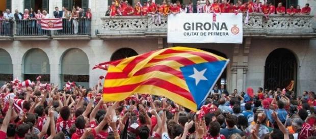 Girona es uno de los tres clubes con sede en Cataluña en La Liga esta temporada, junto con el Barcelona y el Espanyol