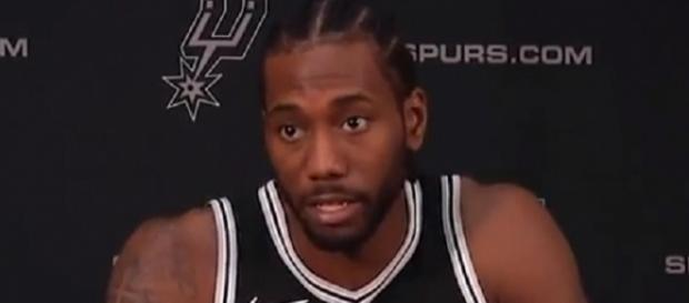 Kawhi Leonard was a finalist for the MVP trophy last season. [Image Credit: bballNeverEnds/YouTube]