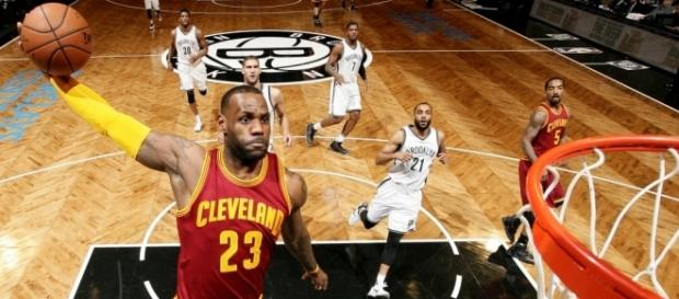 LeBron will break record vs Nets - (Image Credit: Cavs/YouTube screencap)