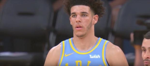 Lonzo Ball had the last laugh as the Lakers topped the Wizards in overtime -- Ximo Pierto via YouTube