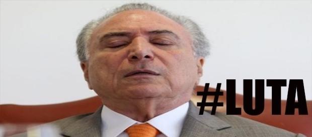 Presidente do Brasil é internado às pressas. ( Foto: Reprodução)