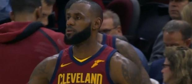 The Cavs star started at PG for the first time in 12 years. [Credit Image: ESPN Media/Youtube]