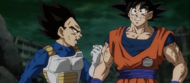 Vegeta, Goku on 'Dragon Ball Super - Image Credit: Abood Abuzarqa1/YouTube