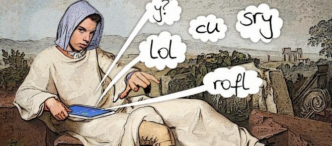 Sprachentwicklung gleich Sprachverfall?