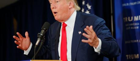 Trump reassures US after latest shooting. ( photo wikimedia author michael vadon)