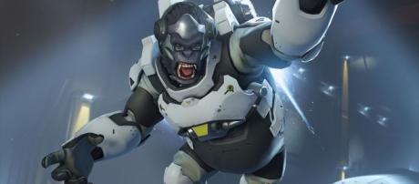 "Winston's Barrier Project has been tweaked on the ""Overwatch"" PTR [Image via PlayOverwatch/YouTube]"