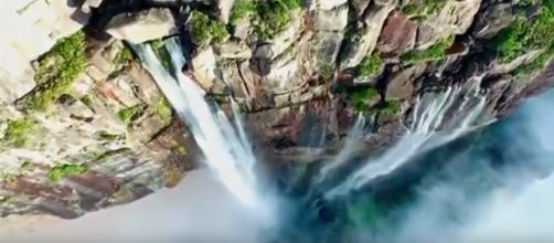 4 of the highest waterfalls in the world. [Image credit: Amazing News/YouTube screencap]