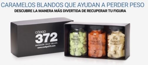 Caramelos que ayudan a perder peso, Código 372 Thin Kit