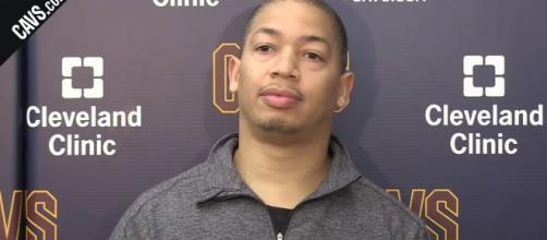 Cleveland Cavaliers head coach Tyronn Lue (via YouTube - NBA Center)