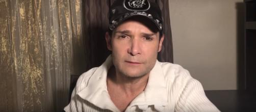 Corey Feldman plans to produce a film to expose alleged pedophilia in Hollywood. (Image Credit: Corey Feldman/YouTube)