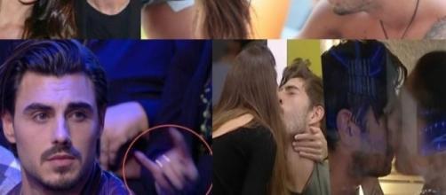 Francesco Monte lascia Cecilia Rodriguez in diretta GF Vip
