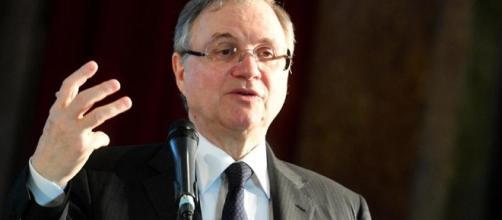 Il governatore Banca d'Italia Ignazio Visco