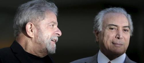 Investigado na Lava Jato, ex-presidente Lula acusa Temer de ter gasto R$ 26 milhões para se manter no poder