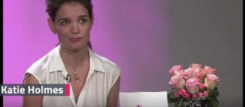 Katie Holmes shares the reason behind her new pixie haircut. Image credit: Wochit entertainment/YouTube