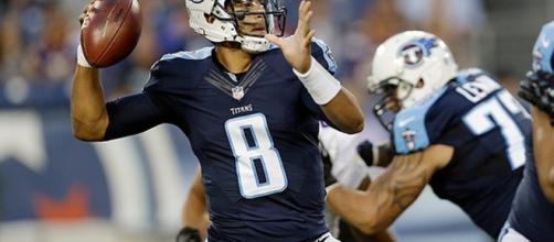 Marcus Mariota of the Tennessee Titans (Image Credit: Inside Sports/Vimeo screencap)