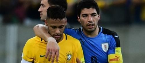 Neymar e Suarez são muito amigos