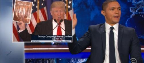 Trevor Noah and Trump - opiod crisis - Image credit - TDS | Vimeo