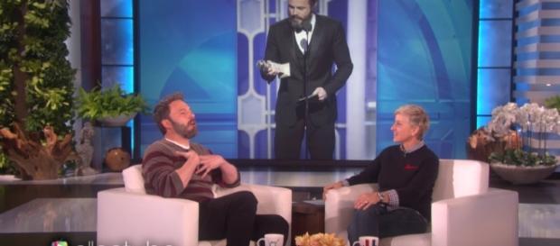 Ben Affleck went on a house hunting with Lindsay Shookus in LA. Image Credit: EllenShow/YouTube