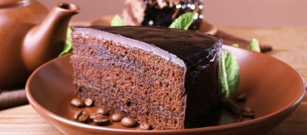 Bolo de chocolate diet para comer sem culpa