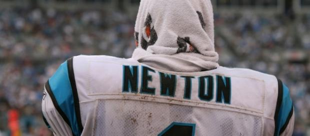 Cam Newton of the Carolina Panthers (image Credit: Parker Anderson/Flickr)